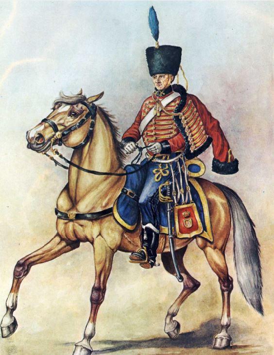 Resultado de imagen para 1er Regimiento de Husares