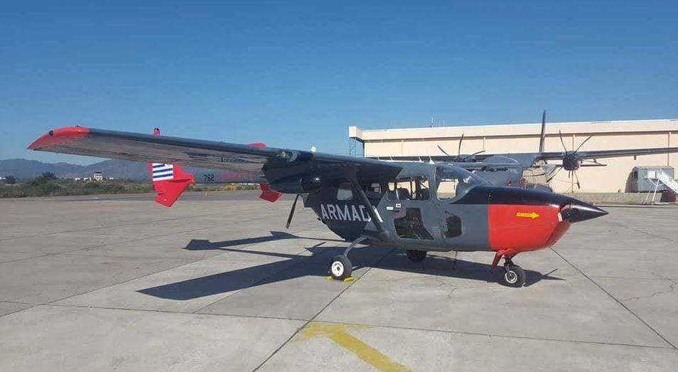 Los Cessna 02 Donados Por La Armada De Chile Ya Lucen Los Colores