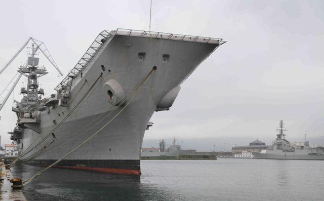 Resultado de imagen de l arsenal militar de Ferrol al desguace en Turquía