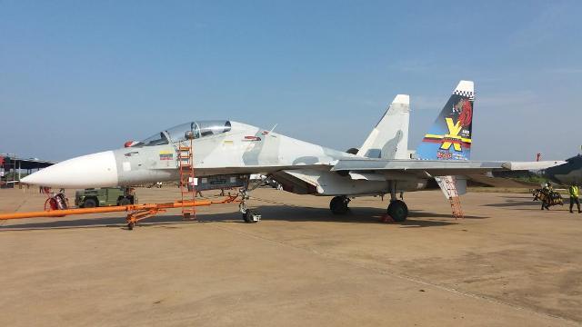 Los Sukhoi Su-30 MK2 de Venezuela cumplen 10 años en servicio-noticia  defensa.com - Noticias Defensa Venezuela