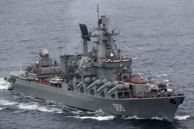"""La Armada """"escoltarᔠal crucero ruso Mariscal Ustinov cuando pase frente a España-noticia defensa.com - Noticias Defensa España"""