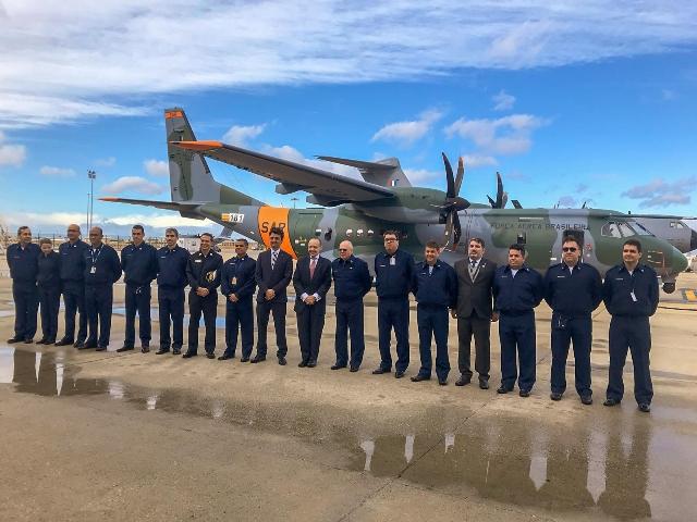 La Fuerza Aérea de Brasil recibe un nuevo Airbus C295 en Sevilla -noticia defensa.com - Noticias Defensa defensa.com Brasil - Defensa.com