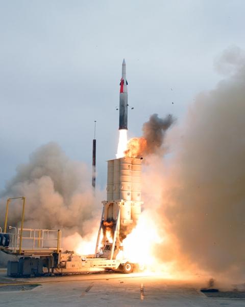 Resultado de imagen de defensa de antimisiles Arrow