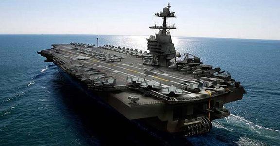 Resultado de imagen de portaaviones nuclear Gerald R. Ford,