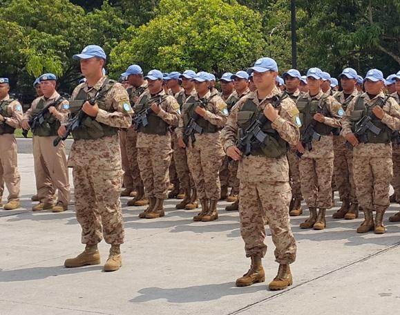 Despliega un contingente salvadoreño en Malí en el marco de la ...