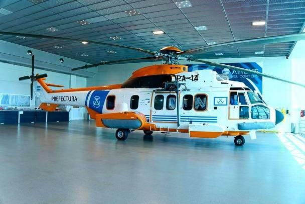 Resultado de imagen para Helicoptero PA 14 DE pREFECTURA NAVAL