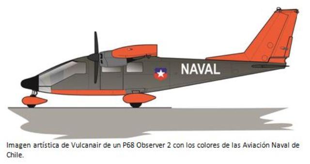 La Armada De Chile Compra Siete Aviones P68 Observer 2 Noticias
