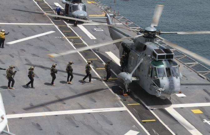 Fuerza de Guerra Naval Especial la Unidad de Operaciones