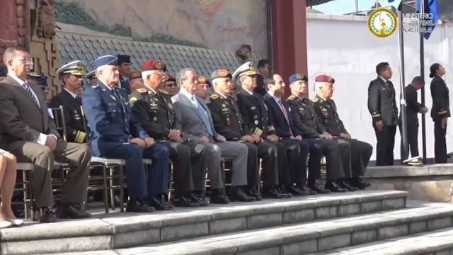 Presentación Oficial De Los Nuevos Altos Mandos Militares De