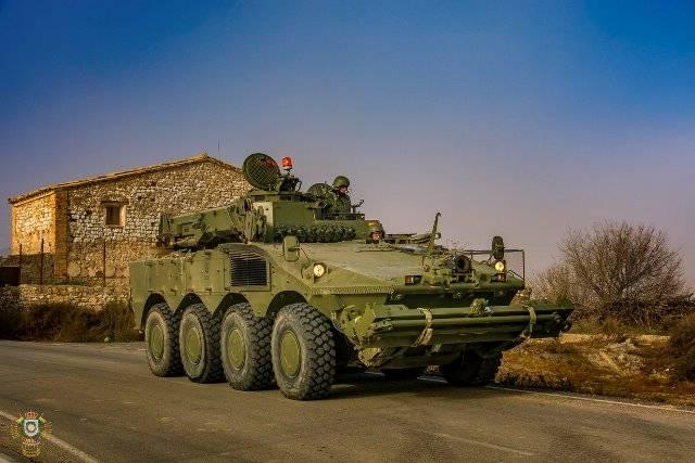 fc480e686e Aunque los vehículos acorazados de recuperación y reparaciones 8x8 Iveco  VCREC llegaron a las filas del ET (Ejército de Tierra) español en 2011