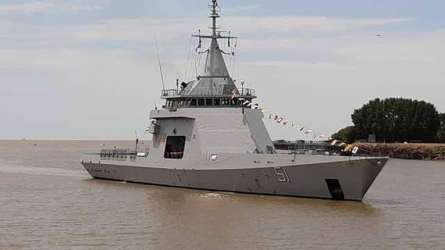 """LLegó a Buenos Aires el OPV ARA """"Bouchard"""" para la Armada ..."""