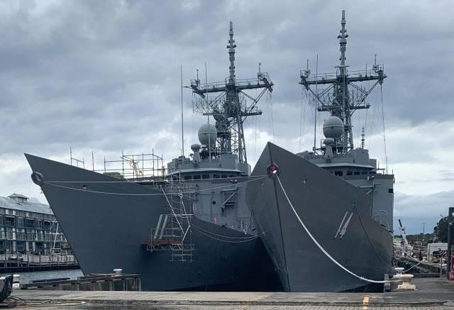 Las Fragatas De La Clase Adelaide Se Integran Oficialmente En La Armada De Chile Noticia Defensa Com Noticias Defensa Defensa Com Chile