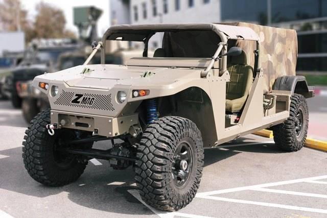 IAI compra la fabricación de vehículos todo terreno Zibar, Zmag, y ...